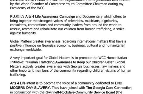 Letter of Endorsement – Solange Warner