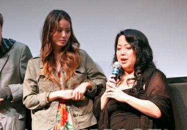 Actress Jamie Chung and Chong Kim