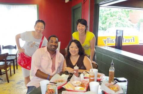 Chong Kim visits Atlanta with Michael Green